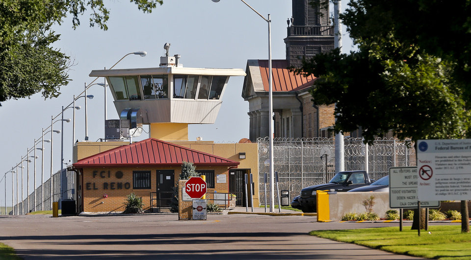 Photo -  Federal Bureau of Prisions FCI El Reno on Monday, July 13, 2015, in El Reno, Okla. Photo by Chris Landsberger, The Oklahoman