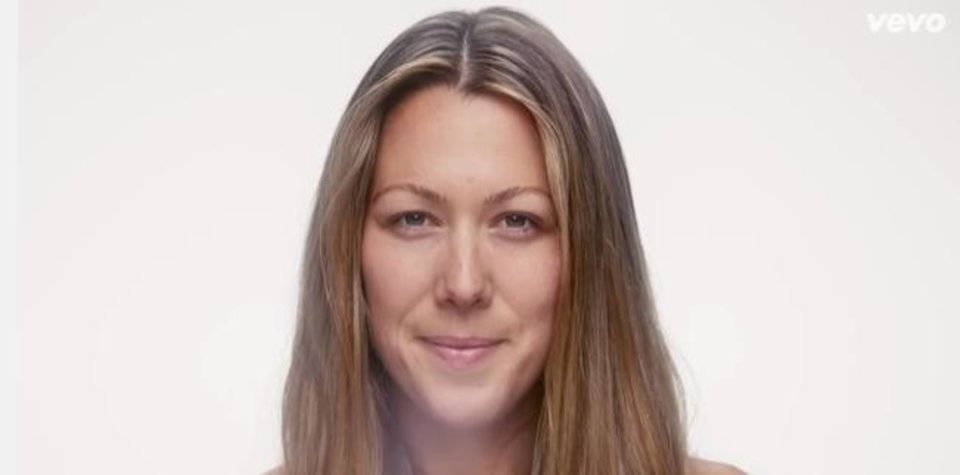 Photo -       Singer-songwriter Colbie Caillat enjoys going out without makeup on, and her latest music video proves it.