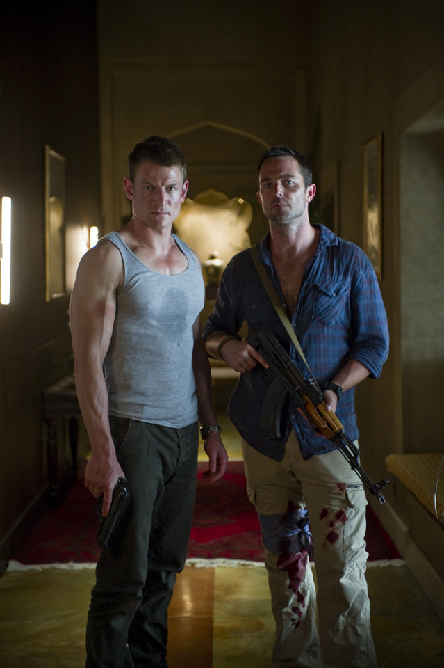 "Photo -  Philip Winchester and Sullivan Stapleton of ""Strike Back"" - Cinemax Photo"