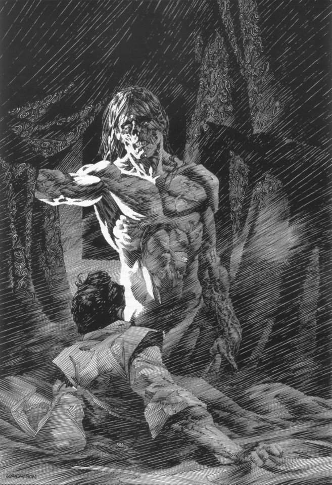 Photo - Bernie Wrightson's Frankenstein.