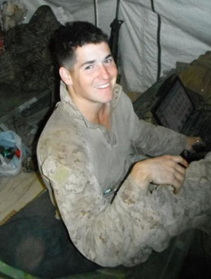 Photo - This undated photo provided by the U.S. Marines shows Lance Cpl. David P. Fenn II of Polk City, Fla. Penn, 20, was killed with six other Marines in an explosion during a Nevada training exercise on Monday, March 18, 2013. (AP Photo/U.S. Marines)