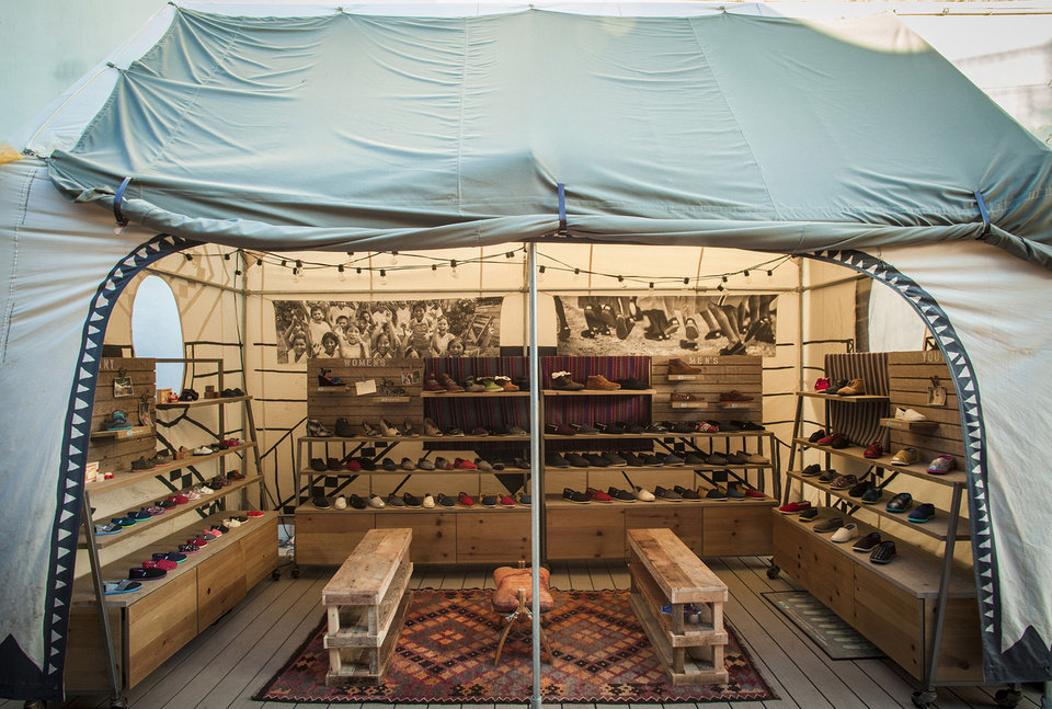 Toms shoes has opened its first retail store and community space on Abbot Kinney in Venice, just blocks away from where founder Blake Mycoskie started the business 10 years ago. (Los Angeles Times/MCT)