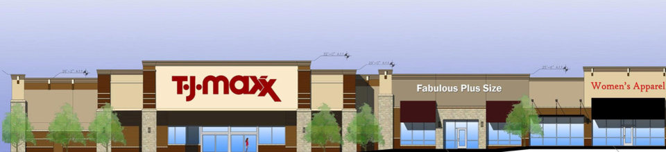Photo - Lawton Marketplace will have TJ Maxx and other national retailers.
