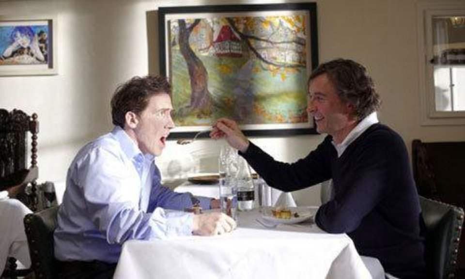 """The Trip,"" starring Rob Brydon and Steve Coogan, shows Friday and Saturday night at The Foodie Film Feastival. Photo provided <strong></strong>"
