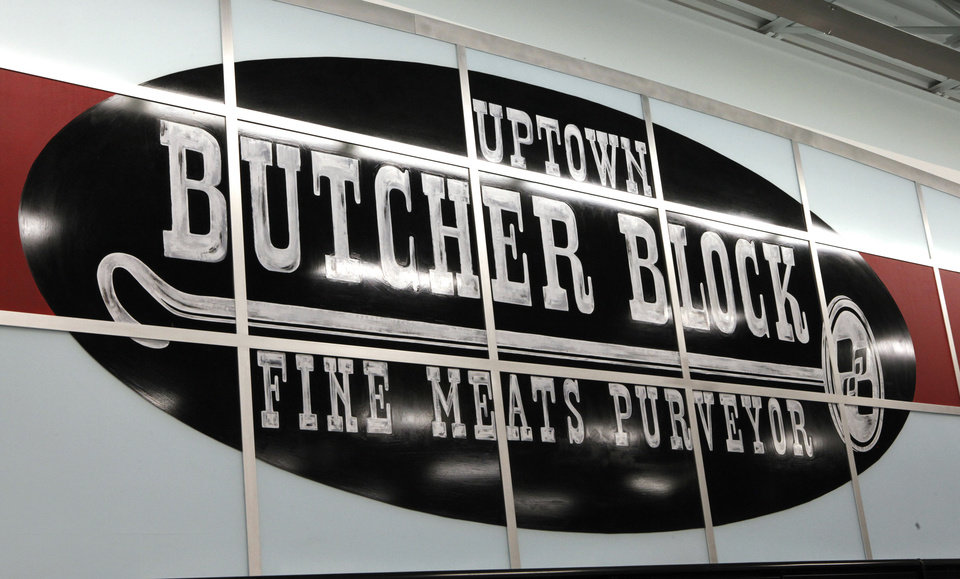 Photo - The new Uptown Grocery Co. in Edmond will offer prime dry-aged beef plus choice cuts of Angus.  David McDaniel - The Oklahoman