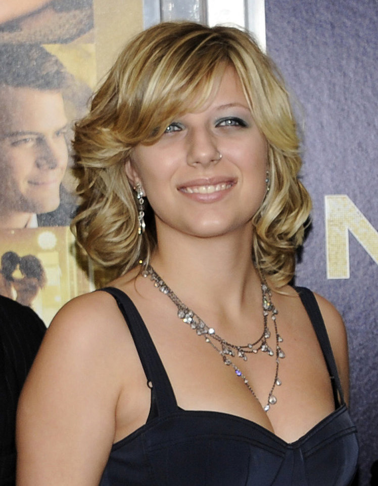 Photo -   FILE - This Dec. 7, 2011 file photo shows Stephanie Bongiovi, daughter of rocker Jon Bon Jovi, at the premiere of