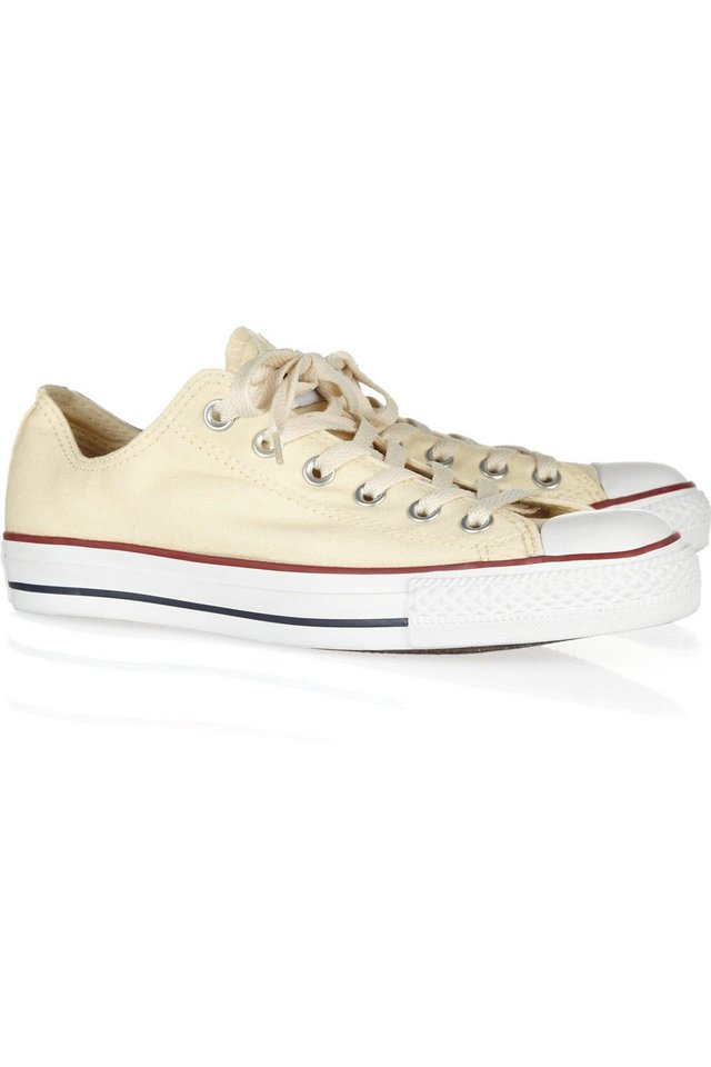 A few chic ways to accessorize this Fourth of July include this Converse Canvas low-top sneakers $50. (Courtesy Net-a-porter.com via Los Angeles/MCT)