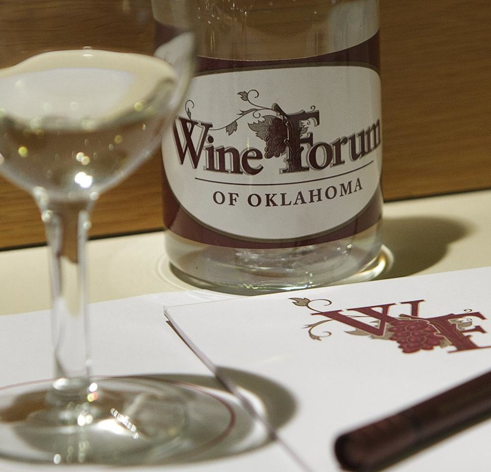 Photo - OSU's fourth biennial Wine Forum of Oklahoma is scheduled for April 10-11 in Stillwater.                                        Photo by Gary Lawson, OSU University Marketing
