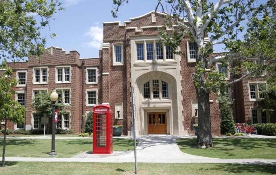Photo -  Farzaneh Hall, formerly Hester Hall, got its new name in 2016. The building is at 729 Elm Ave. on the University of Oklahoma campus in Norman. [SARAH PHIPPS/THE OKLAHOMAN ARCHIVES]