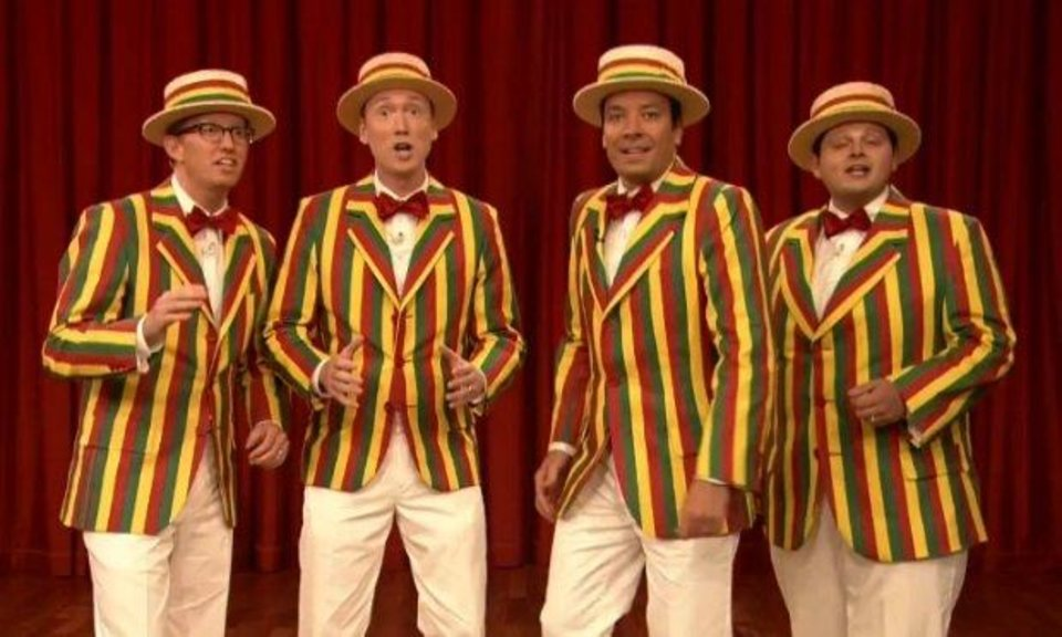 Photo -  Jimmy Fallon and the Ragtime Gals