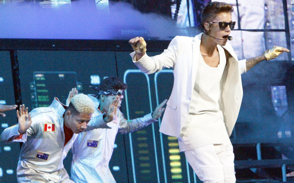 Justin Bieber performed at the Chesapeake Energy Arena on Tuesday, July 2, 2013 as part of his Believe tour. Photo by Aliki Dyer/ The Oklahoman