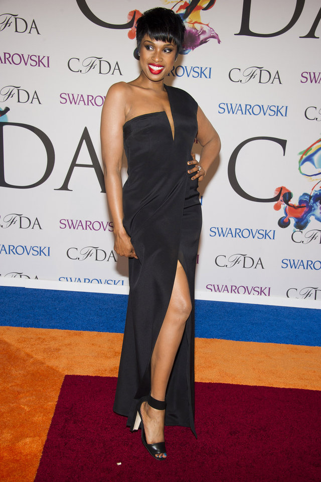 Photo - Jennifer Hudson attends the CFDA Fashion Awards on Monday, June 2, 2014 in New York. (Photo by Charles Sykes/Invision/AP)