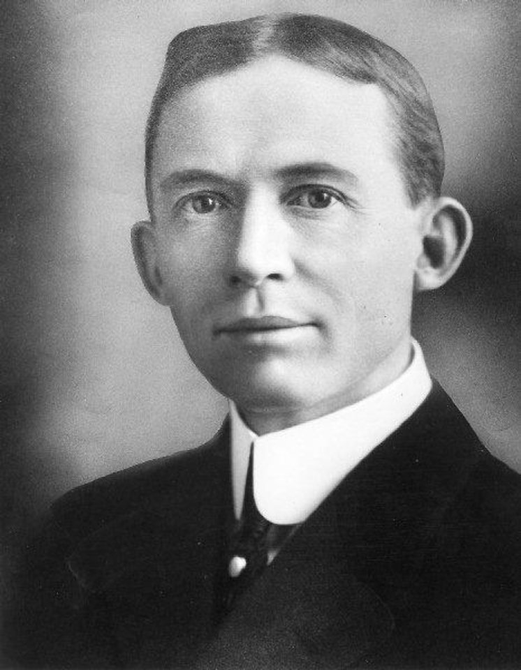 Photo - E.K. Gaylord, president  of the Oklahoma Publishing Co.  1915