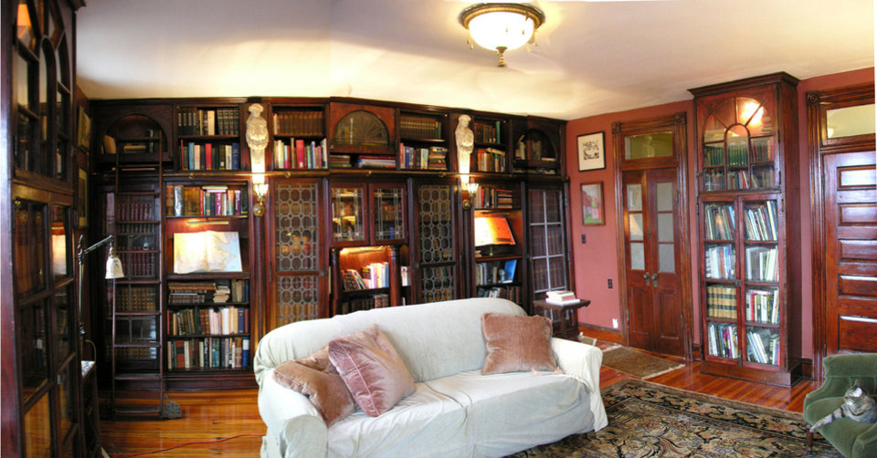 The library room after renovation. <strong> - Provided</strong>