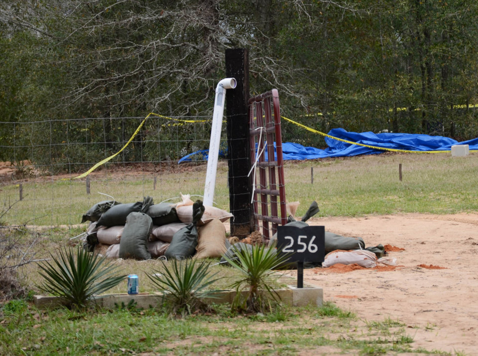 Photo - This undated photo released by the FBI on Tuesday, Feb. 5, 2013, shows the pipe FBI agents and Dale County negotiators used to communicate with Jimmy Lee Dykes while he held a 5-year-old boy hostage in a bunker on his Midland City, Ala. property for a week. The pipe was also used to send food, medicine, and other items into the bunker. The boy was rescued and his captor was killed when federal agents raided the bunker on Monday. (AP Photo/FBI)