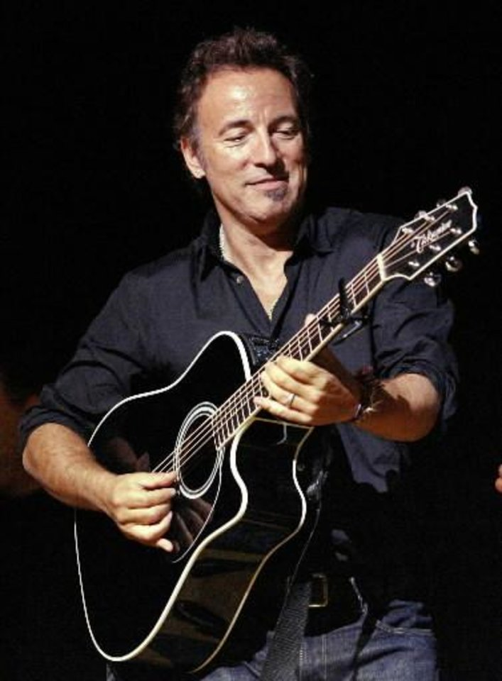 Bruce Springsteen (AP file)