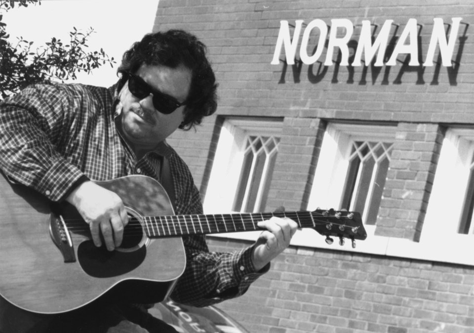 "Photo - Richard ""Daddy"" Love, a Norman singer/songwriter and founder of NormanMusic Scene.com, is heading up the SongWriters Association of Norman, a nonprofit group for area songwriters. PHOTO PROVIDED"