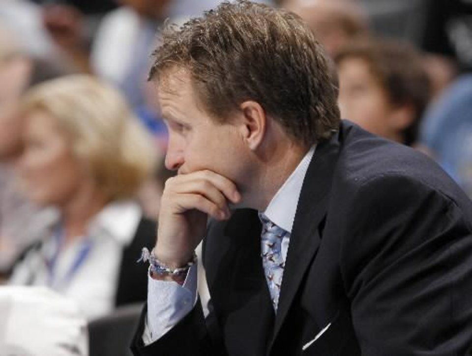 If you were Scott Brooks, what would you do with the Thunder's rotation?