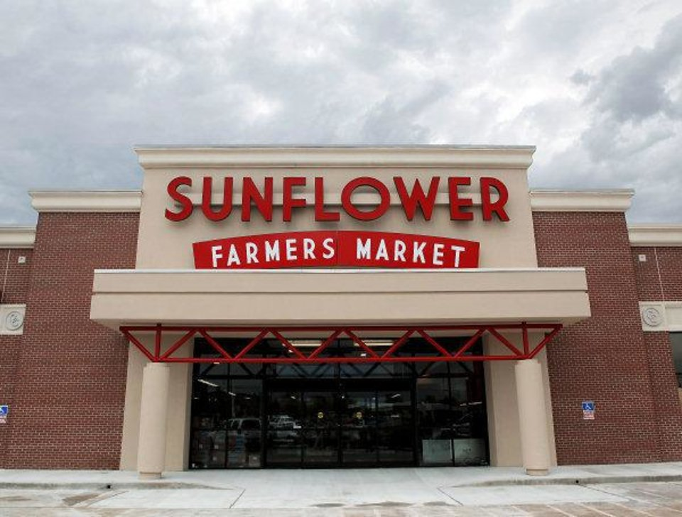 Photo - The new Sunflower Farmers Market at NW 63 and N May Avenue, which opens Aug. 31.  JOHN CLANTON - John Clanton