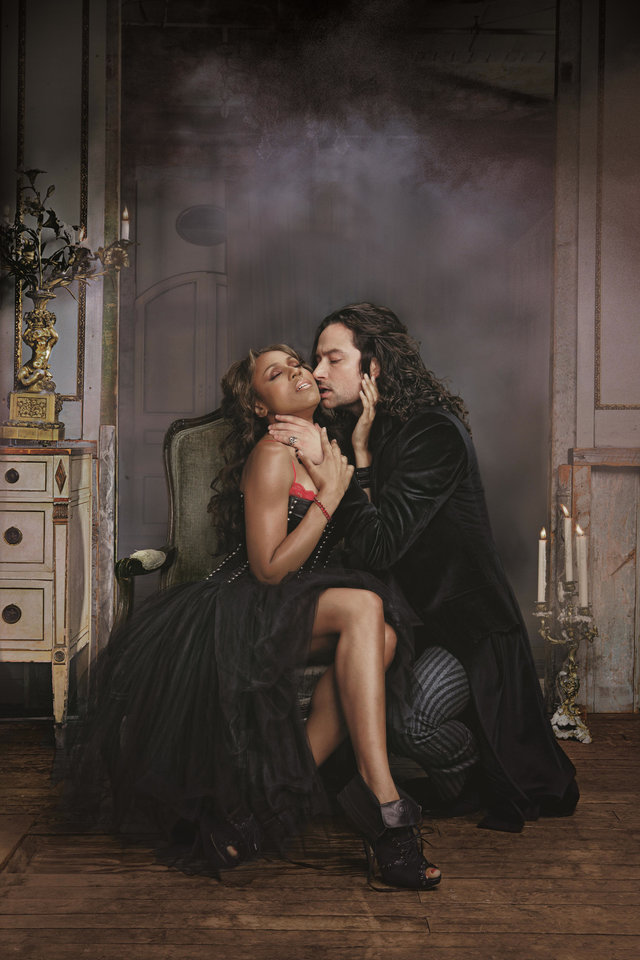 Photo - Constantine Maroulis and Deborah Cox head the cast of