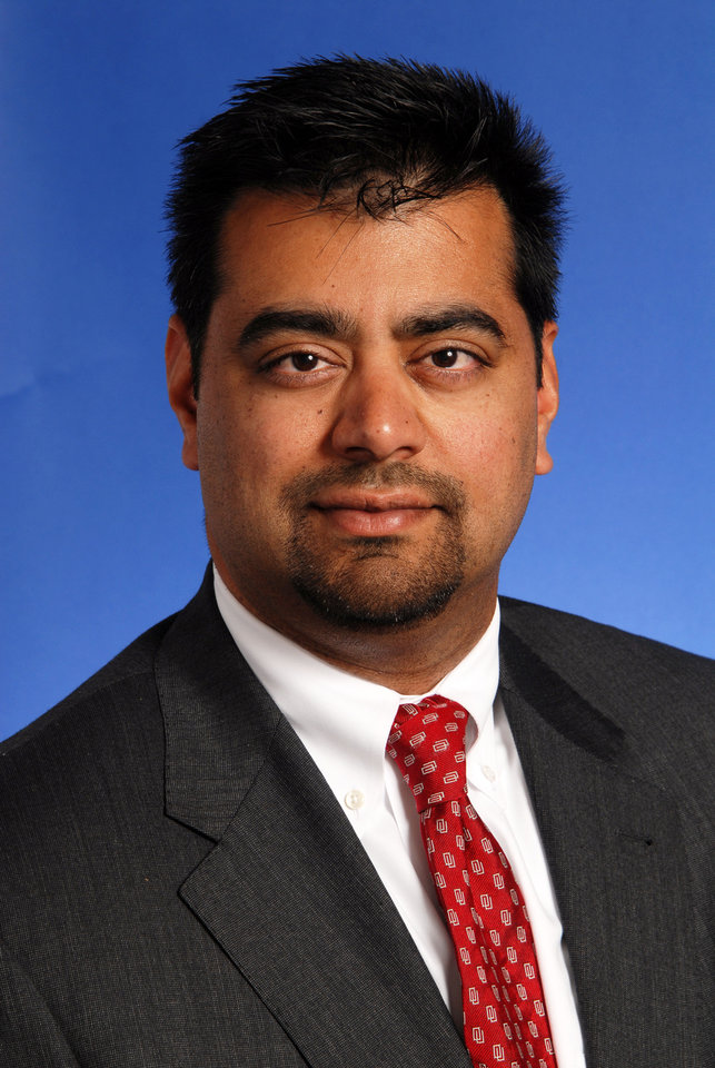 Anil Gollahalli is vice president and general counsel at the University of Oklahoma (OU).       ORG XMIT: 1210251913025171