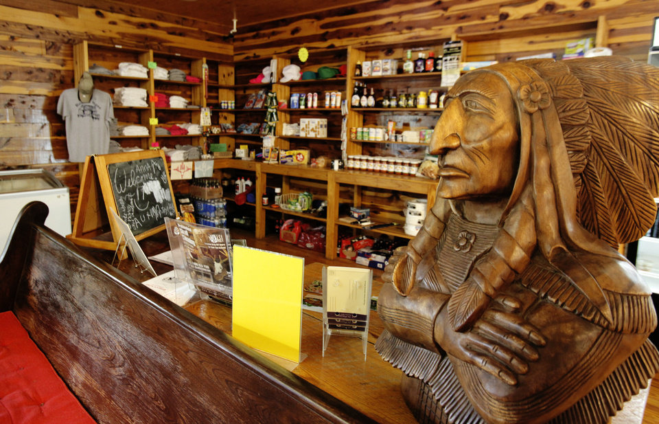 Photo - General store at Roman Nose State Park, Tuesday , May 22, 2012. Photo By David McDaniel/The Oklahoman
