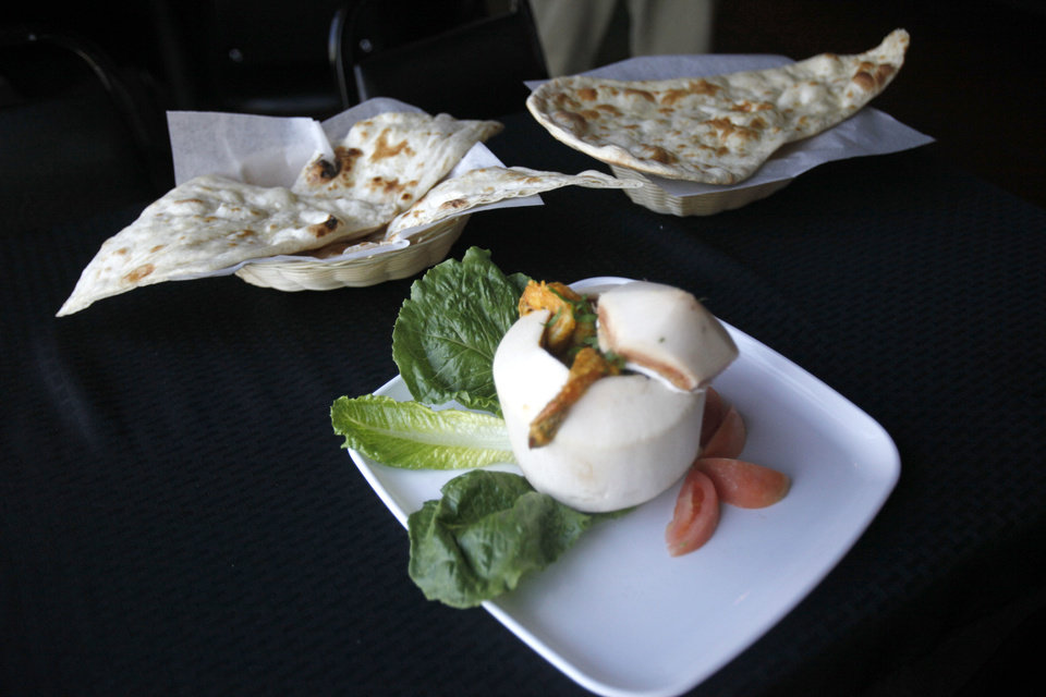 INDIAN FOOD: These are dishes at Heritage India, a new Indian restaurant in Edmond, OK, Friday, July 27, 2012,  By Paul Hellstern, The Oklahoman