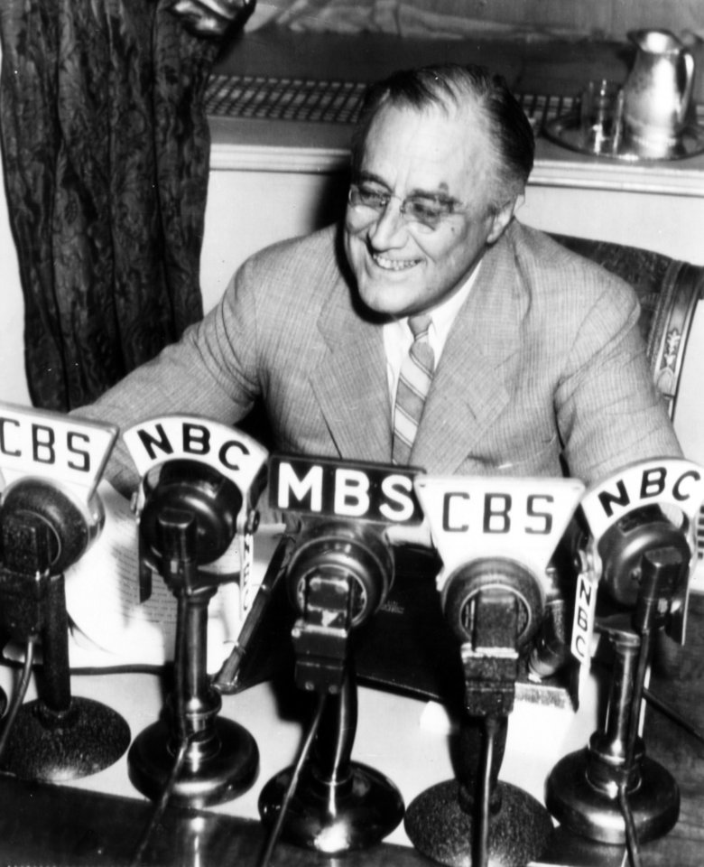 Photo - Franklin D. Roosevelt  AP WIREPHOTO