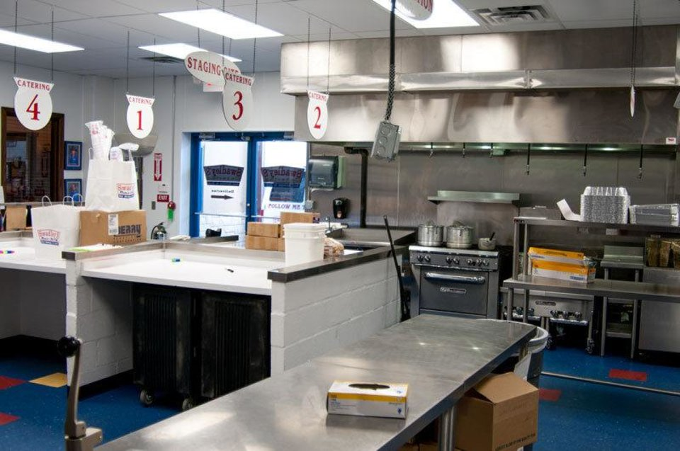 Photo - Oklahoma City-based Swadley's Catering uses prepares food in its Oklahoma City kitchen and delivers meals to oilfield workers throughout Oklahoma and surrounding states.   - photo provided