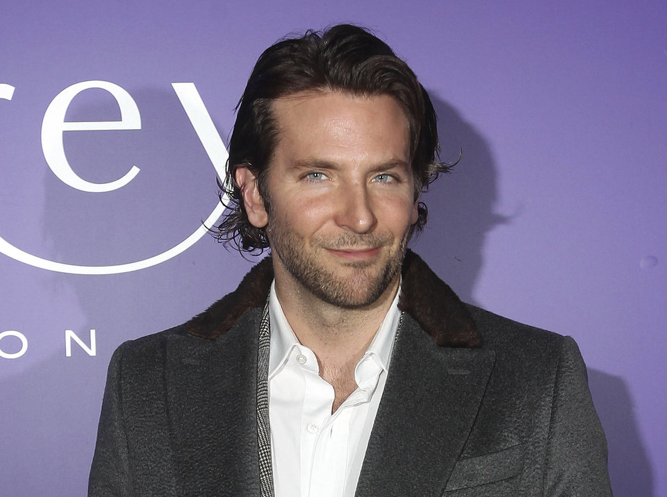 Actor Bradley Cooper arrives at the EE British Academy Film Awards Nominees Party at Asprey, in central London, in this photo dated Saturday Feb. 9, 2013. Cooper is considered a major contender to pick up awards for his