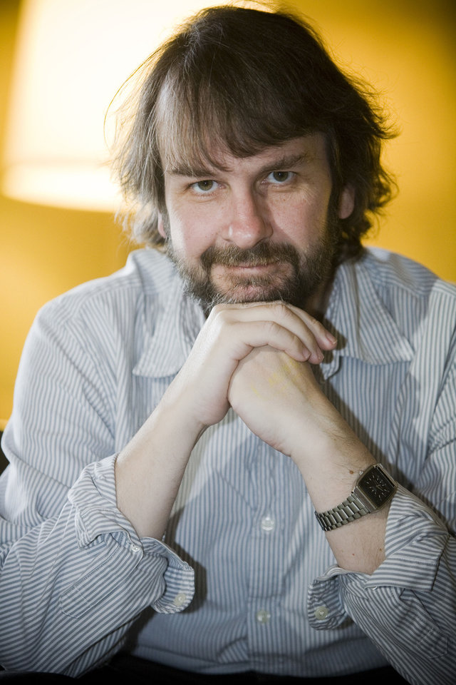Director Peter Jackson poses for a portrait in San Diego, Thursday, July 23, 2009. (AP Photo/Chris Park) ORG XMIT: NYET651