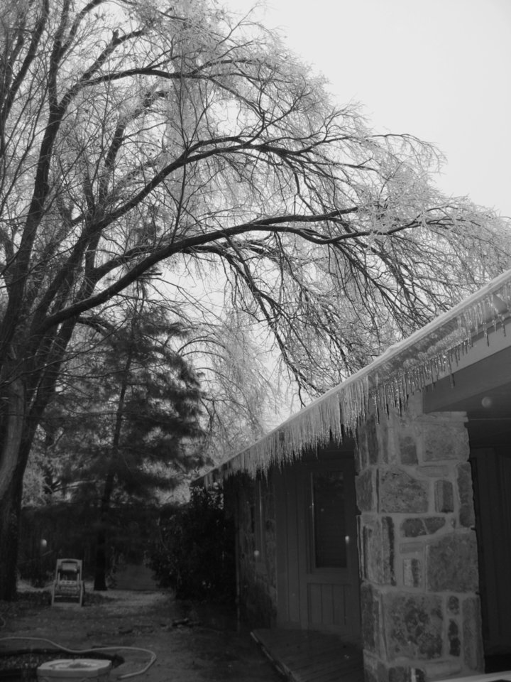 ice Community Photo By: Emily Submitted By: Emily, El Reno