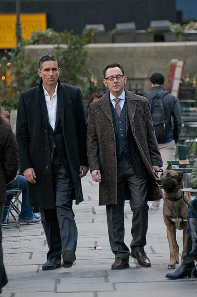 "From left, Jim Caviezel and Michael Emerson star in ""Person of Interest."" - Photo by John P. Filo/CBS ���©2013 CBS Broadcasting Inc. All Rights Reserved."