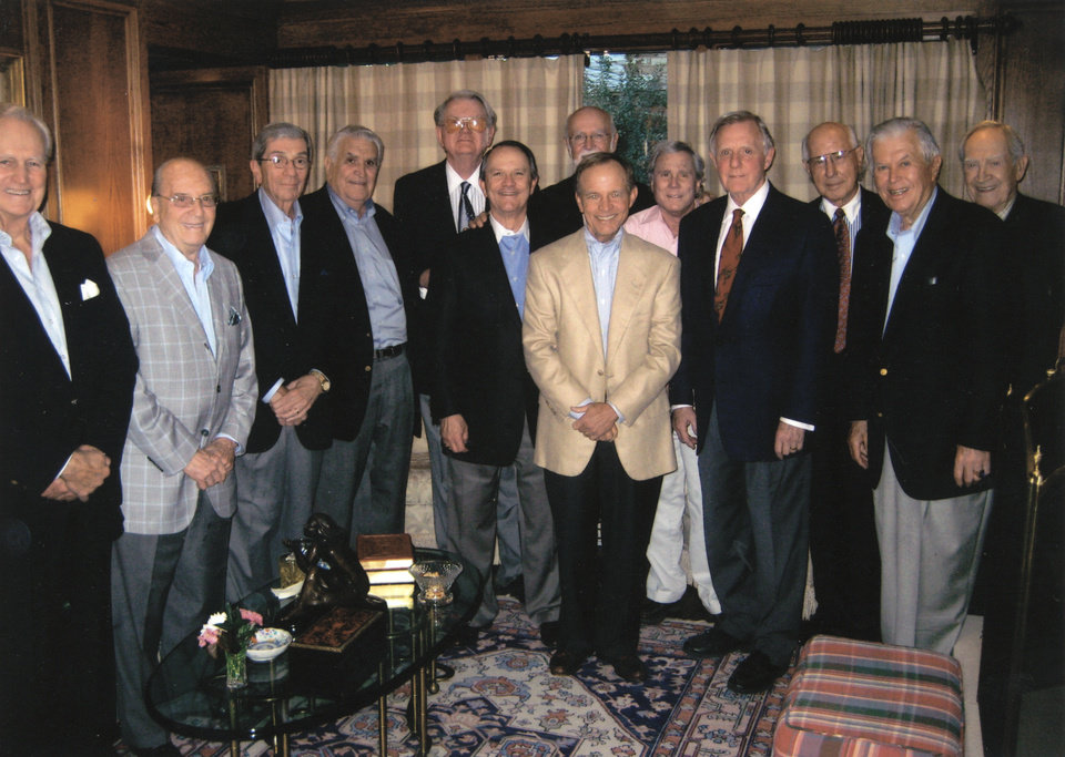 Ed Cook, Stanton Young, John Mee, Lee Allan Smith, Dan Hogan, John Bozalis, Bob Johnson, Jim Everest, L. Thomas Dulaney Jr., Ralph Thompson, Gene Rainbolt, Dick Clements, Bill Cleary. - Photo provided