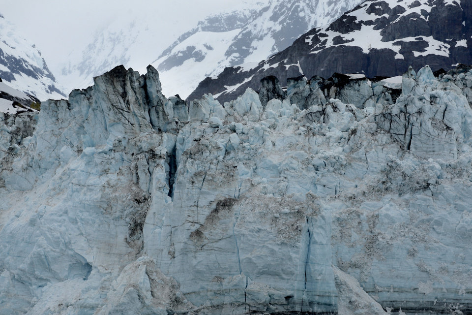 Photo - Margerie Glacier is pictured in Glacier Bay Alaska, Thursday, June 7, 2012.  Photo by Sarah Phipps, The Oklahoman