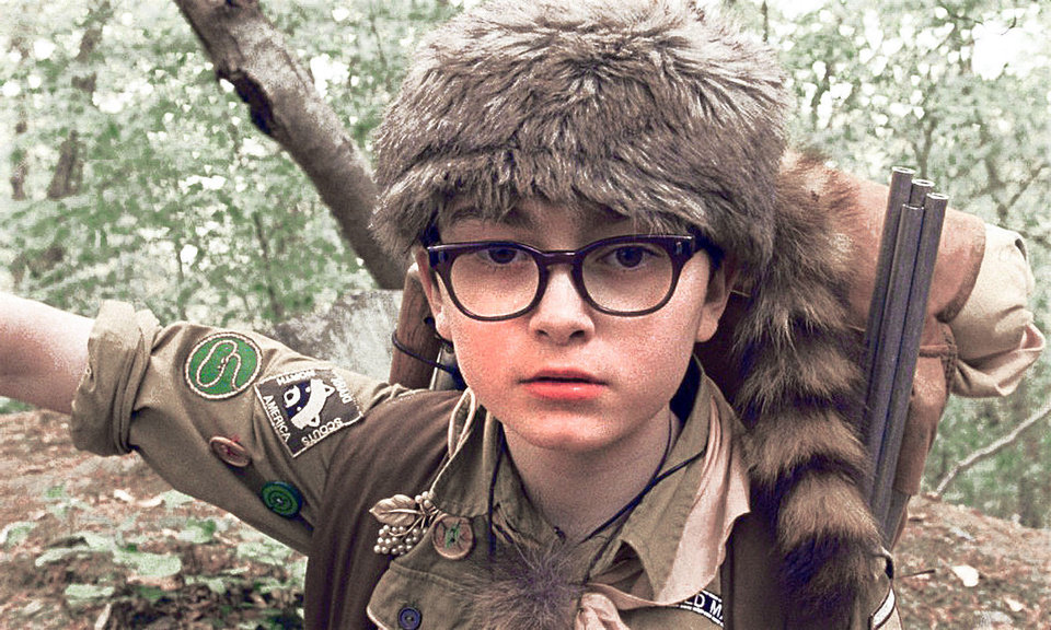 Jared Gilman stars as Sam in Wes Anderson�s �Moonrise Kingdom,� a Focus Features release.  Photo by Focus Features