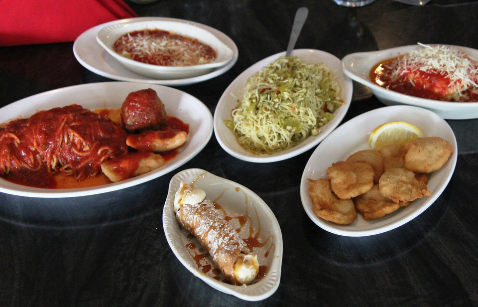 Photo - Italian specialties are the norm in Krebs, Oklahoma, and the Isle of Capri has been serving them since 1950.  DAVE CATHEY - THE OKLAHOMAN