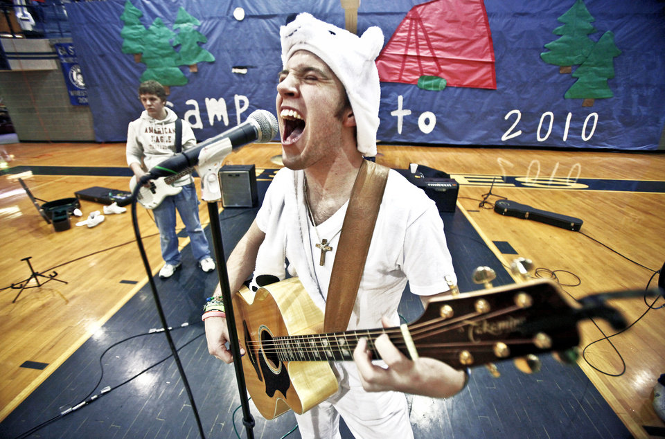 Edmond North's Chris Lashley and his band perform during BALTO Week. PHOTO BY CHRIS LANDSBERGER, OKLAHOMAN ARCHIVE