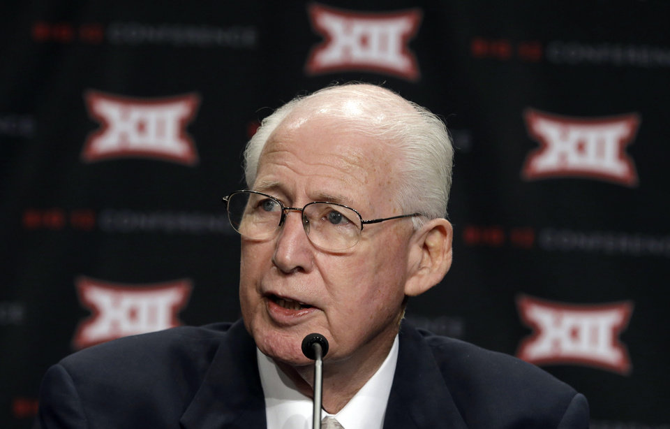 Photo - Kansas State head coach Bill Snyder speaks to reporters at the Big 12 Conference NCAA college football media days in Dallas, Tuesday, July 22, 2014. (AP Photo)