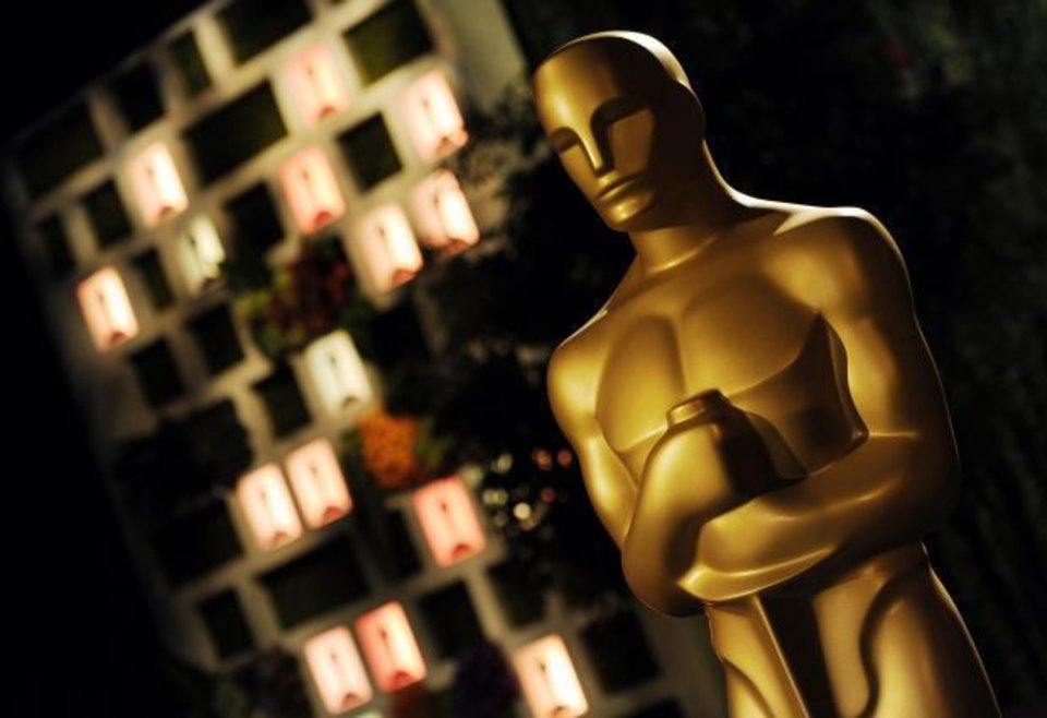 Photo -  An Oscar statue is pictured at the Governors Ball Press Preview for the 86th Oscars, on Thursday, Feb. 20, 2014, in Los Angeles. The official post-Oscar celebration will immediately follow the Oscars ceremony on Sunday in Los Angeles. (AP)
