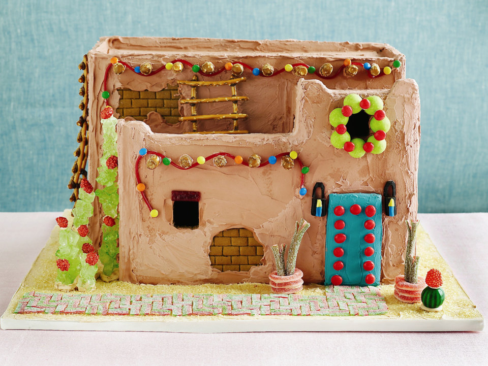 Photo - This pueblo gingerbread house form