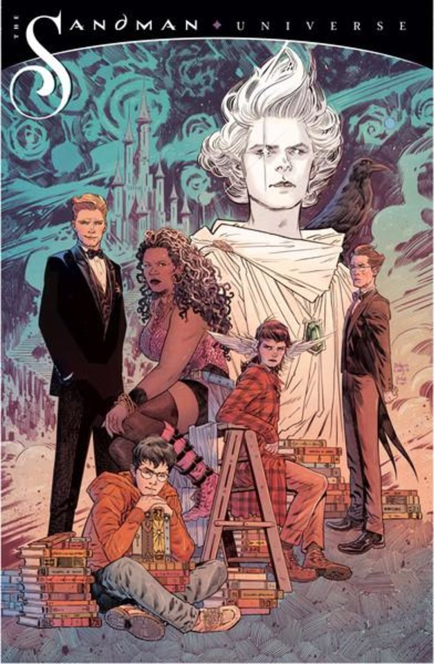 Photo - Promotional art for The Sandman Universe [DC Comics]