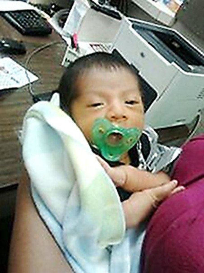 Photo - Rey Chicoj Pol, of Hinton. He was killed when he was sucked out of his family's vehicle by the El Reno tornado May 31.  PROVIDED
