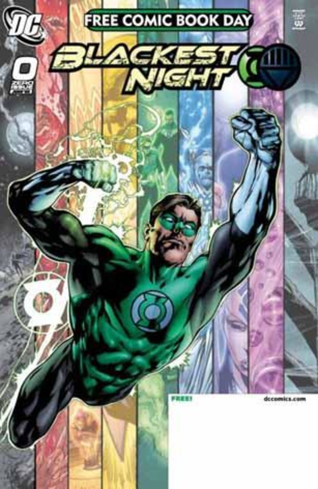 "Photo - ""Blackest Night"" begins with a Free Comic Book Day issue May 2. DC Comics     ORG XMIT: 0903261548208991"