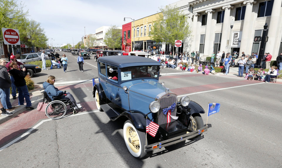 The 89er Day Parade moves down Main Street on Saturday, April 20, 2013 in Norman, Okla.  Photo by Steve Sisney, The Oklahoman