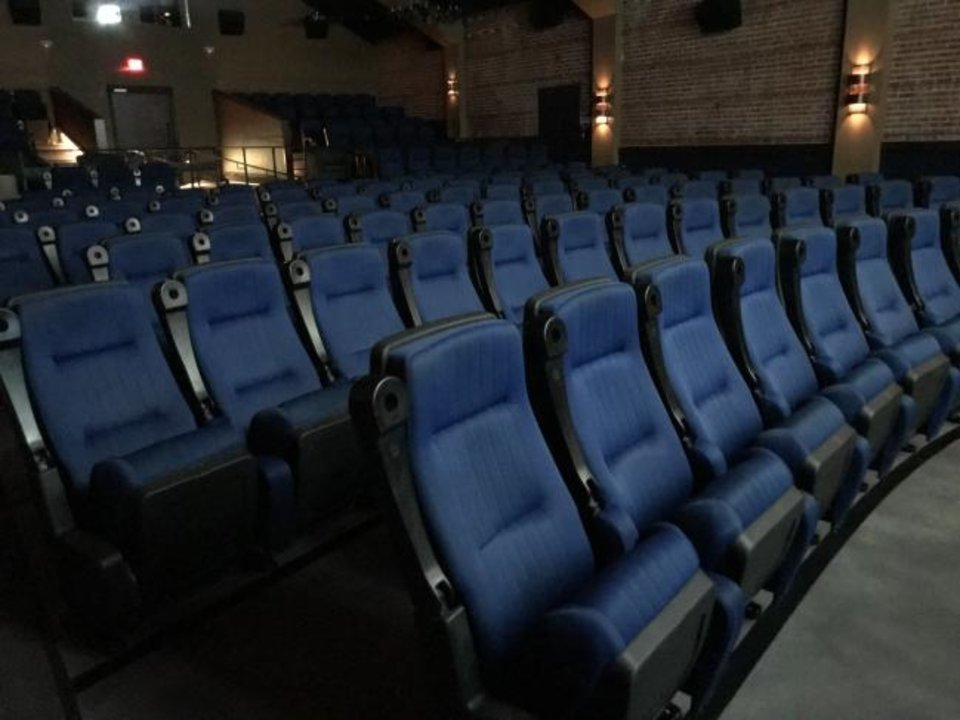 Photo -  This is the theater at Rodeo Cinema in the Stockyards City area. [Photo provided]
