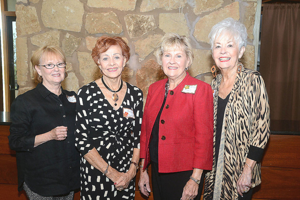 Photo - DeDe Douglas, Helen Duckett, Nancy Stoll, Sonja Pellow. Photo by David Faytinger, for The Oklahoman