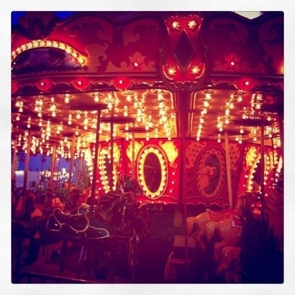 Photo - Carousel at State Fair