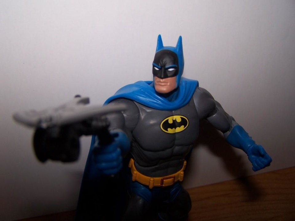 Photo -  The No. 1 toy for 2007, Batman from DC Classics Wave 1 (Picture by Chris Price)