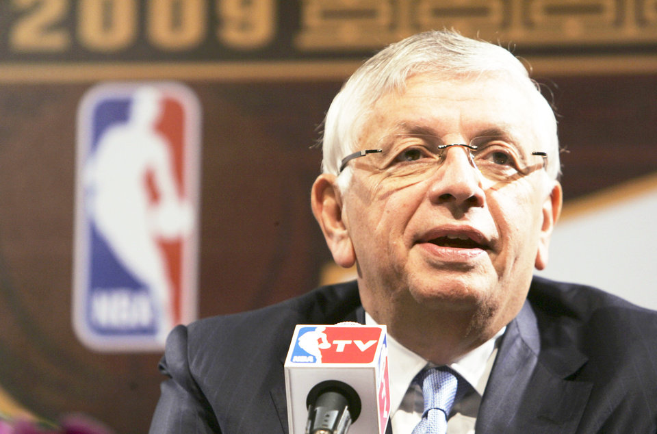 Photo - David Stern NBA commissioner